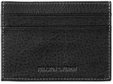 Johnston & Murphy Men's Leather Card Case - Black