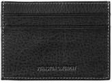 Johnston & Murphy Men's Leather Card Case - Black