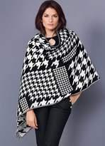 Kaleidoscope Houndstooth Blanket Scarf