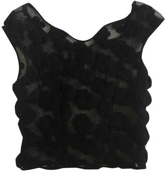 Simone Rocha Black Lace Top for Women