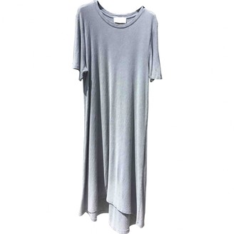 American Vintage Grey Cotton Dress for Women