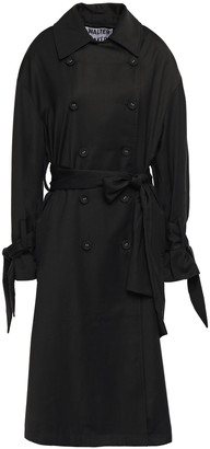 Walter Baker Deandre Knotted Twill Trench Coat