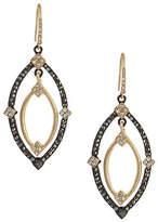 ABS by Allen Schwartz Embellished Navette Orbital Drop Earrings