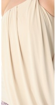 T-Bags Tbags los angeles Draped One Shoulder Top