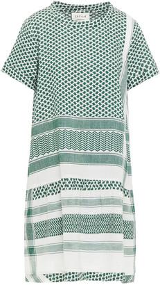Cecilie Copenhagen Cotton-jacquard Mini Dress