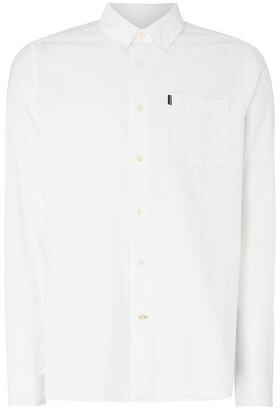 Barbour Lifestyle Plain Long Sleeve Collar Shirt Tailored Fit