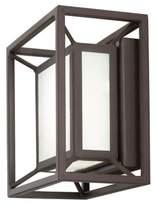 George Kovacs Outline 6.75-Inch LED Outdoor Pocket Lantern in Sand Bronze