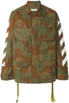 Off-White camouflage cargo jacket - men - Cotton - XXS