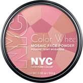 N.Y.C. New York Color, Color Wheel Mosaic Face Powder, Pink Cheek Glow, 0.32 Ounce