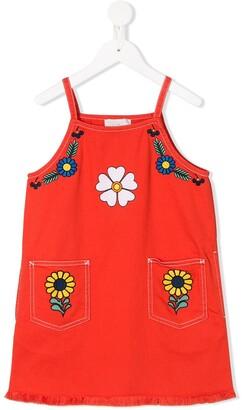 Stella Mccartney Kids Floral Print Dress