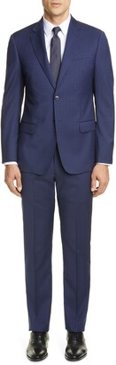 Emporio Armani G Line Trim Fit Solid Wool Suit