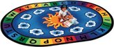Carpets For Kids 9416 Sunny Day Learn & Play 8.25 ft. x 11.67 ft. Oval Carpet