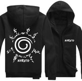 Splendid-Dream Zip-up Jacket Splendid-Dream Unisex Long sleeve Naruto Full Zip Sweatshirt Hooded (L, )