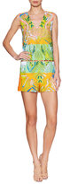 Emilio Pucci Cut Out Printed Playsuit