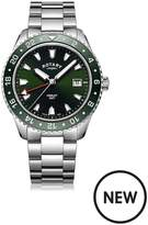 Rotary Rotary Henley Green Dial GMT Mens Watch
