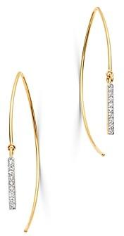 Bloomingdale's Kc Designs 14K Yellow Gold Diamond Threader Wire Earrings
