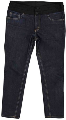 Junya Watanabe Blue Cloth Trousers for Women