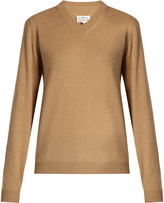 Maison Margiela V-neck wool sweater