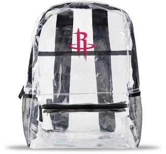 clear Houston Rockets Team Logo School Bag