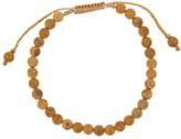 Link Up Matte Wood Jasper Beaded Bracelet