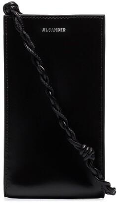 Jil Sander small Tangle leather cross body bag
