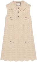 Gucci Crochet wool dress