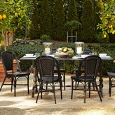 Williams-Sonoma La Coupole Indoor/Outdoor Dining Table, Rectangular Pietra Cardoza Top