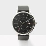 Paul Smith Men's Black 'Gauge' Watch