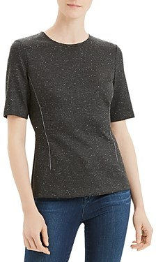Theory Short Sleeve Fitted Shell Top