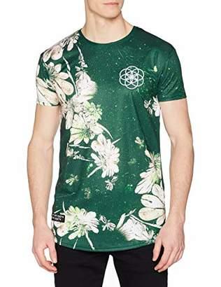 Scartissue Scar Tissue Men's Floral T-Shirt,Medium (Size:M)