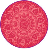 Desigual Round Romantic Patch Bath Mat