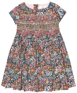 Bonpoint Duchesse floral cotton dress