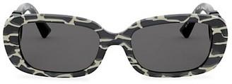 Valentino Allure 53MM Oval Sunglasses