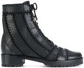 Alexandre Birman lace up ankle boots