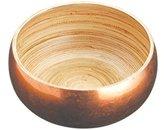 Kitchen Craft MasterClass Artesà Serving Bowl, Gold, 16 cm
