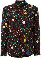 Saint Laurent abstract print shirt