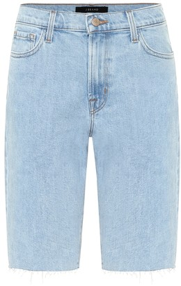 J Brand Stretch-denim Bermuda shorts