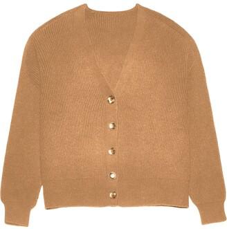 Apparis Andi waffle knit cardigan