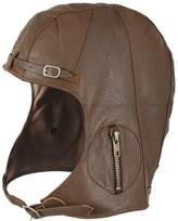 Rothco Leather Aviator Pilot Helmet Cap