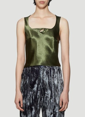 Collina Strada Cut Out Detail Top