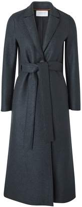 Harris Wharf London Pressed wool long trench