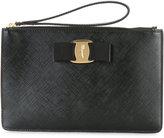 Salvatore Ferragamo Vara clutch - women - Calf Leather - One Size