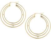 Elizabeth and James Mondrian Hoop Earrins Earrin