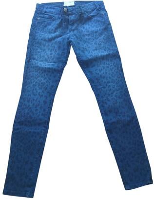 Current/Elliott Current Elliott Blue Cotton - elasthane Jeans
