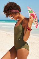aerie Lace Back One Piece Swimsuit