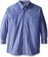 Cutter & Buck Men's Big-Tall Epic Easy Care Royal Oxford Shirt