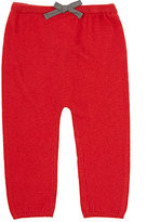 Marie Chantal BOW-FRONT LEGGINGS-RED SIZE 6