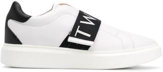 Twin-Set Logo-Strap Sneakers