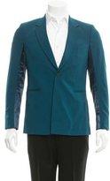 Paul Smith Satin-Contrast Wool Blazer