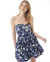 Superdry Womens 50's Tropical Print Dress Two Tone Hawaiian